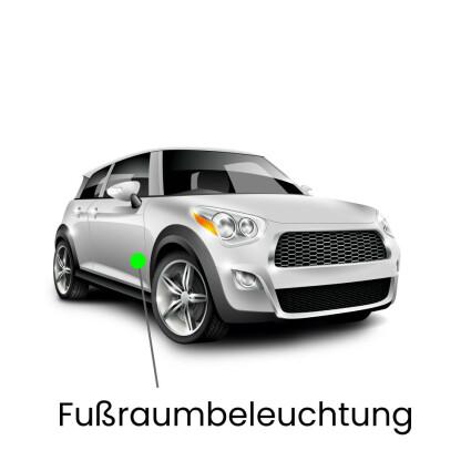 Fußraum LED Lampe für Mini R56 Cooper, Cooper D, S, SD und JCW