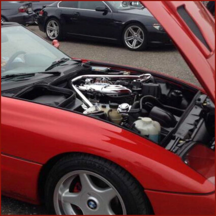 Motorraum LED Lampe für Porsche 997 Carrera Coupe/Cabrio/Roadster