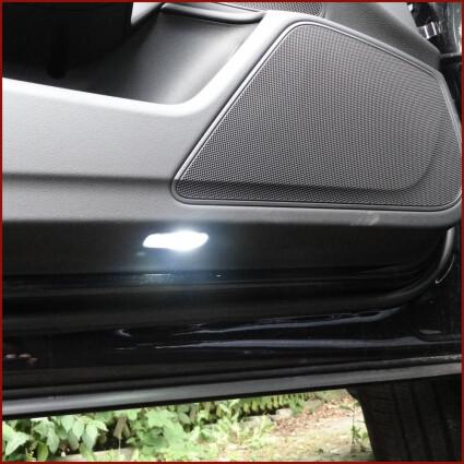 Einstiegsbeleuchtung LED Lampe für Porsche 997 Carrera Coupe/Cabrio/Roadster