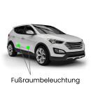 Fußraum LED Lampe für VW Touareg 7L