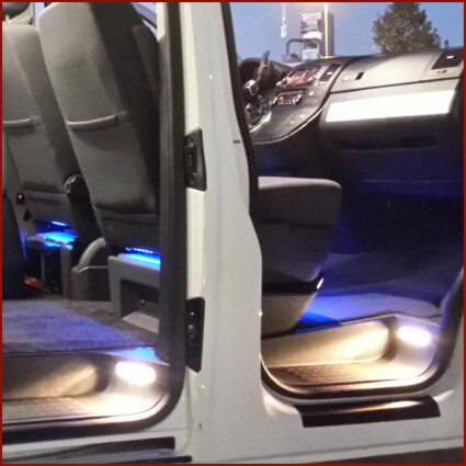 Schiebetürbeleuchtung LED Lampe für VW T5 Caravelle LR