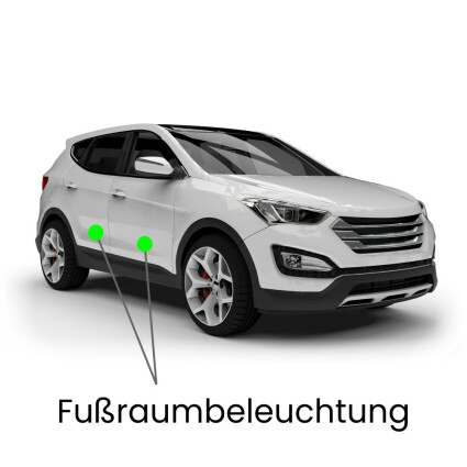 Fußraum LED Lampe für Mercedes GLK-Klasse X204