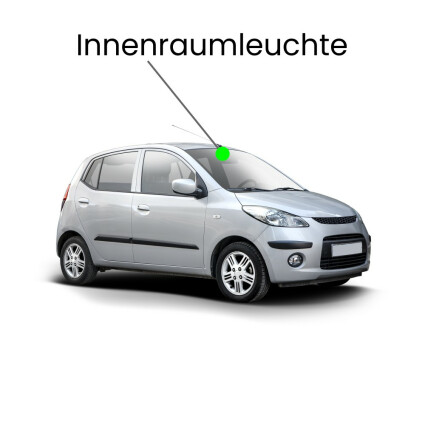 Innenraum LED Lampe für Honda Jazz II - III