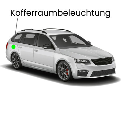 Kofferraum LED Lampe für Audi A4 B7/8E Avant