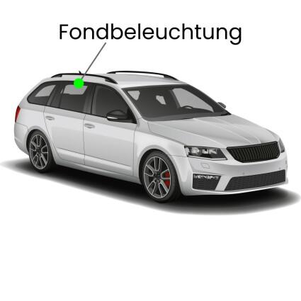 Fondbeleuchtung LED Lampe für Audi A4 B7/8E Avant mit Lichtpaket