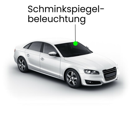 Schminkspiegel LED Lampe für Audi A4 B8/8K Limousine