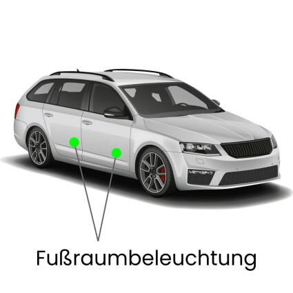 Fußraum LED Lampe für Audi A6 C6/4F Avant