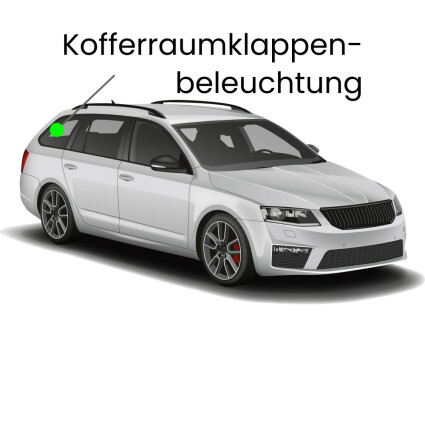 Kofferraumklappe LED Lampe für Audi A6 C6/4F Avant
