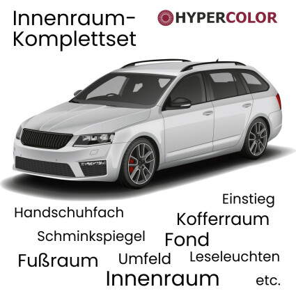 LED Innenraumbeleuchtung Komplettset für Audi A6 C7/4G Avant