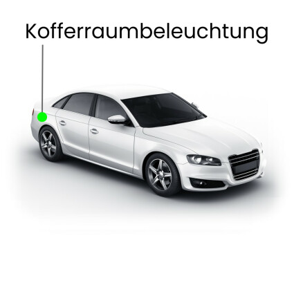 Kofferraum LED Lampe für Audi A7 4G Sportback