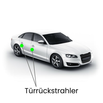Türrückstrahler LED Lampe für Audi A8 4E