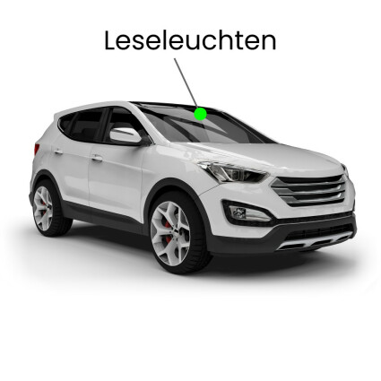 Leseleuchte LED Lampe für Audi Q7 4L 7-Sitzer