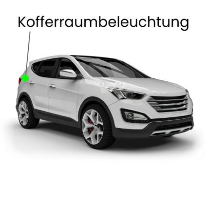 Kofferraum LED Lampe für Audi Q7 4L 7-Sitzer