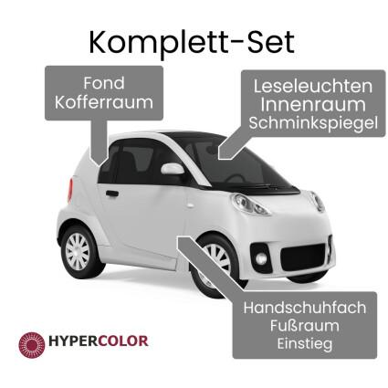 LED Innenraumbeleuchtung Komplettset für Smart ForFour 454
