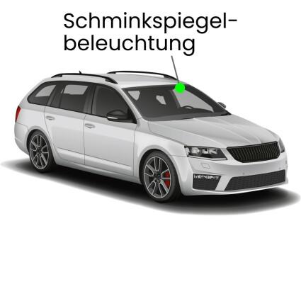 Schminkspiegel LED Lampe für Skoda Superb 3T Kombi