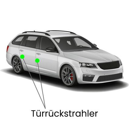 Türrückstrahler LED Lampe für Skoda Superb 3T Kombi