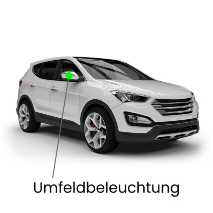 Umfeldbeleuchtung LED Lampe für VW Tiguan (Typ 5N)