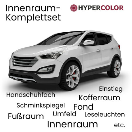 LED Innenraumbeleuchtung Komplettset für VW Touareg II (Typ 7P)