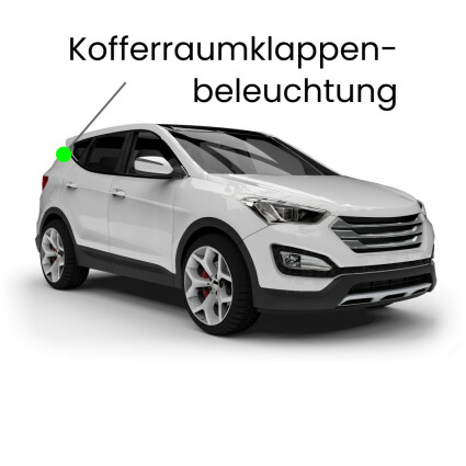 Kofferraumklappe LED Lampe für VW Touareg 7L