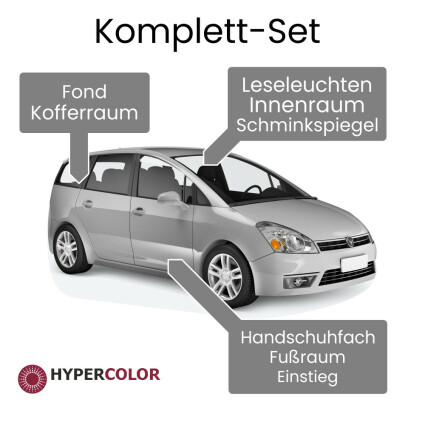 LED Innenraumbeleuchtung Komplettset für Dacia Lodgy (J92)