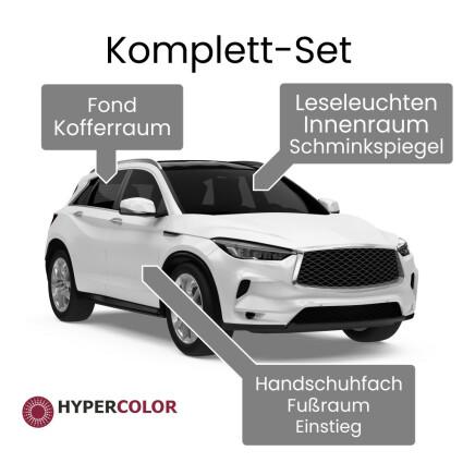LED Innenraumbeleuchtung Komplettset für Dacia Sandero (B90)