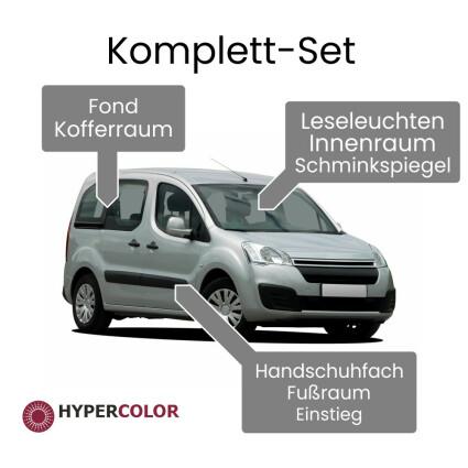 LED Innenraumbeleuchtung Komplettset für Dacia Logan (F90) Fourgon/Van