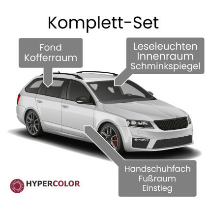 LED Innenraumbeleuchtung Komplettset für Dacia Logan (K90) MCV