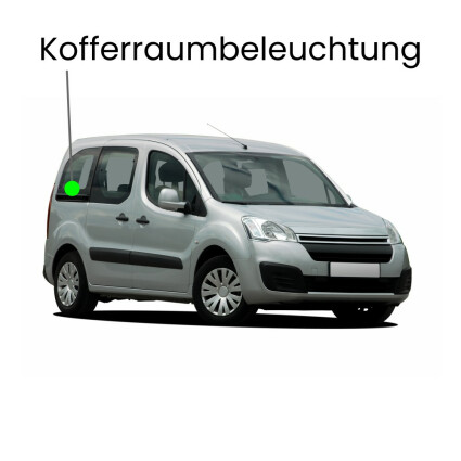 Kofferraum LED Lampe für Dacia Dokker (K67)