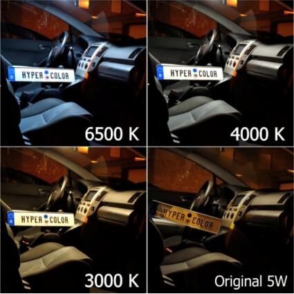 LED Innenraumbeleuchtung Komplettset für Volvo C30