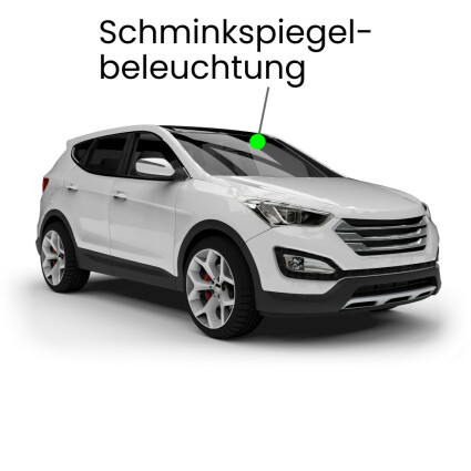 Schminkspiegel LED Lampe für Audi Q5 8R Facelift ab 2012