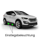 Einstiegsbeleuchtung LED Lampe für Audi Q5 8R...