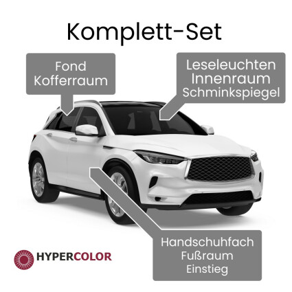 LED Innenraumbeleuchtung Komplettset für Alfa Romeo 147 (937)