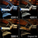 LED Innenraumbeleuchtung Komplettset für Citroen C2