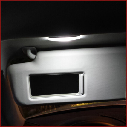 Schminkspiegel LED Lampe für VW Polo 5 (Typ 6R)