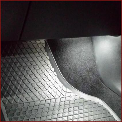Fußraum LED Lampe für VW Sharan II (Typ 7N)