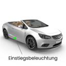 Einstiegsbeleuchtung LED Lampe für Audi A4 B7/8H Cabrio