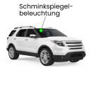 Schminkspiegel LED Lampe für Range Rover 3 Facelift