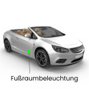 Fußraum LED Lampe für Mini R57 Cabriolet One,...
