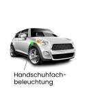 Handschuhfach LED Lampe für Mini R58 Coupe Cooper,...