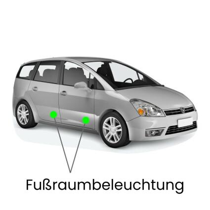 Fußraum LED Lampe für Seat Alhambra II (Typ 7N)