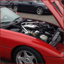 Motorraum LED Lampe für Porsche 993 Carrera, Coupe,...