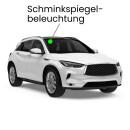 Schminkspiegel LED Lampe für Honda Civic 9