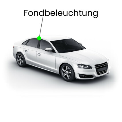 Fondbeleuchtung LED Lampe für BMW 3er E36 Limousine