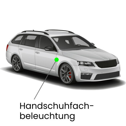 Handschuhfach LED Lampe für Audi A4 B9/8W Avant