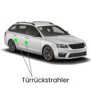 Door backward LED lighting for Exeo