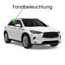 Rear interior LED lighting for Impreza V