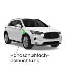 Glove box LED lighting for Leon 5F