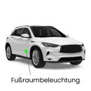 Footwell LED lighting for Leon 5F