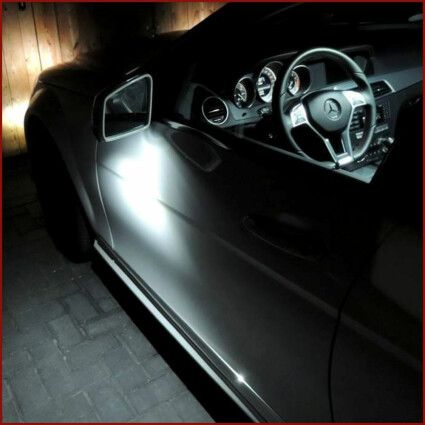 Umfeldbeleuchtung LED Lampe für VW Sharan II (Typ 7N)