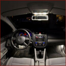 Front interior LED lighting for Arona with Car Alarm